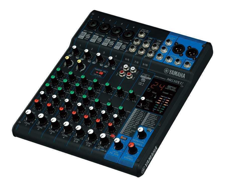 - Yamaha MG10XU 10 Kanal USB ve Efektli Mikser