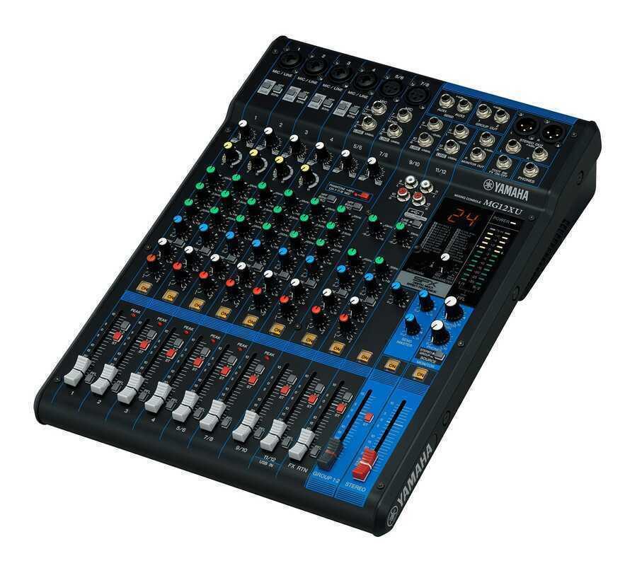- Yamaha MG12XU 12 Kanal USB ve Efektli Mikser