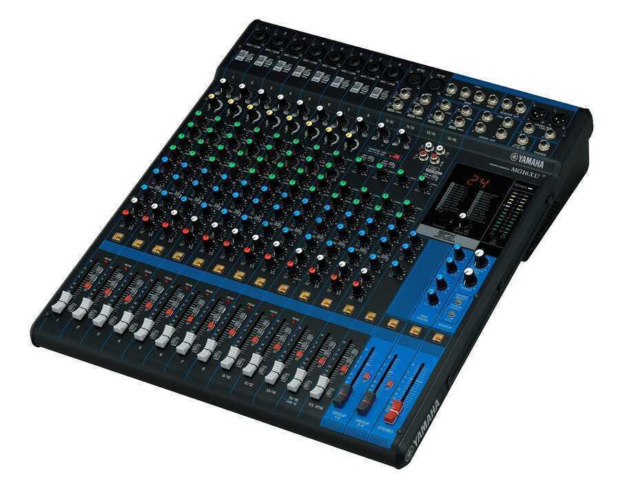 - Yamaha MG16XU 16 Kanal USB ve Efektli Mikser