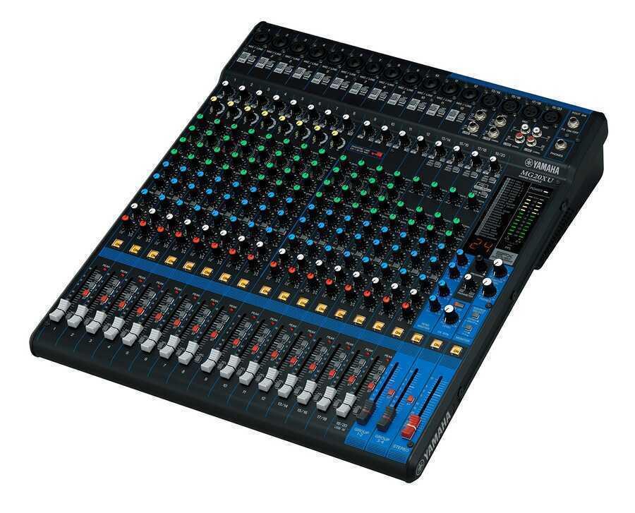 - Yamaha MG20XU 20 Kanal USB ve Efektli Mikser